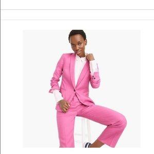 Pink J Crew Blazer